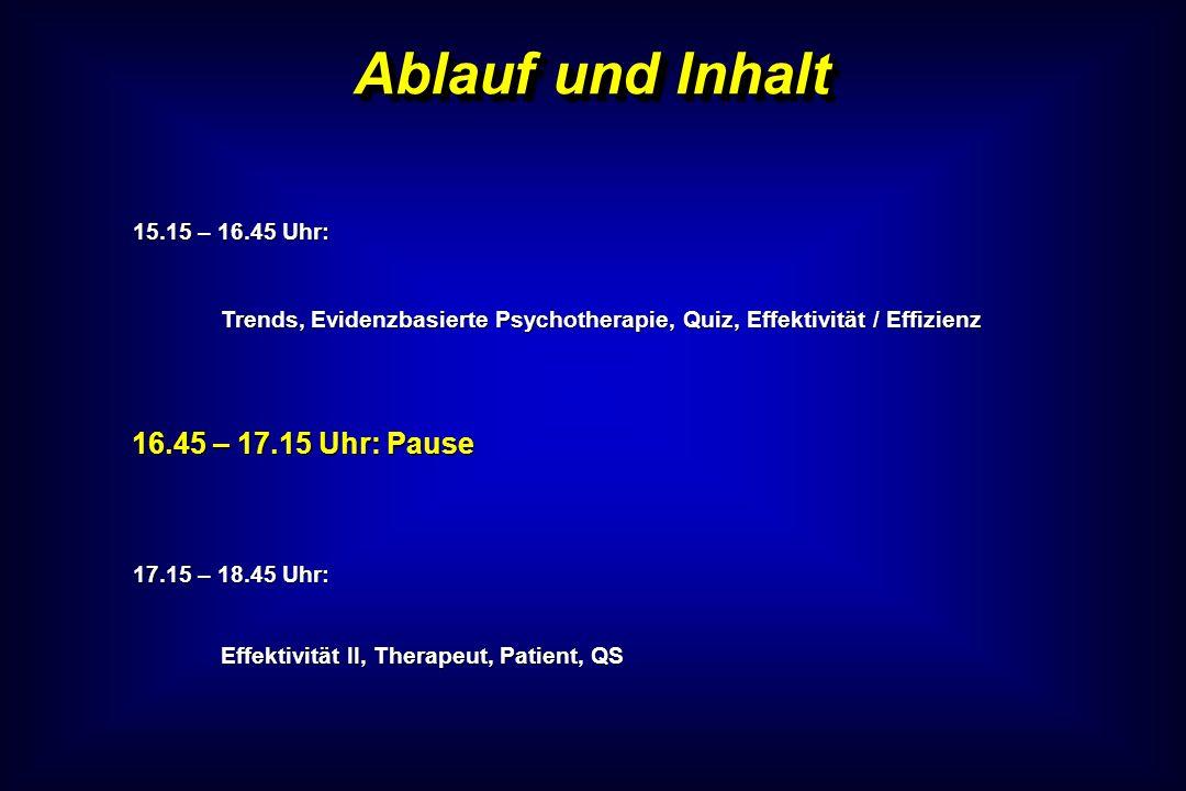 Ablauf und Inhalt 15.15 – 16.45 Uhr: