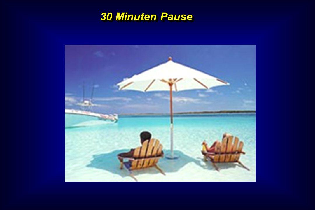 30 Minuten Pause