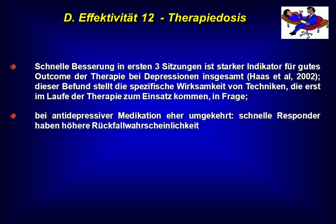 D. Effektivität 12 - Therapiedosis