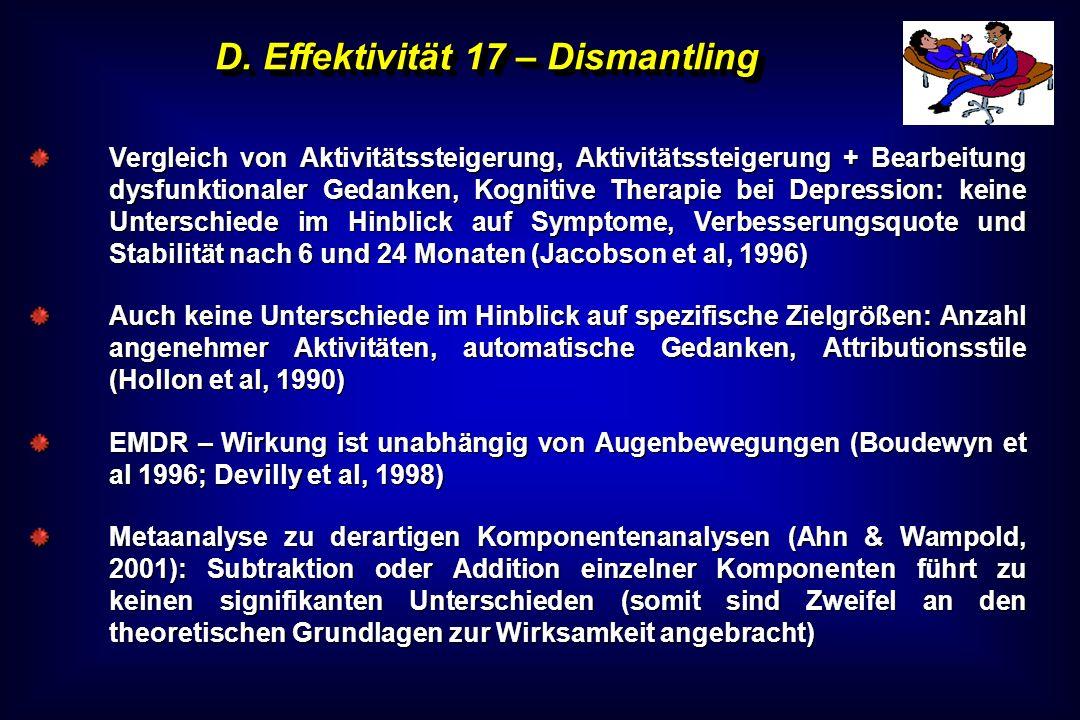 D. Effektivität 17 – Dismantling
