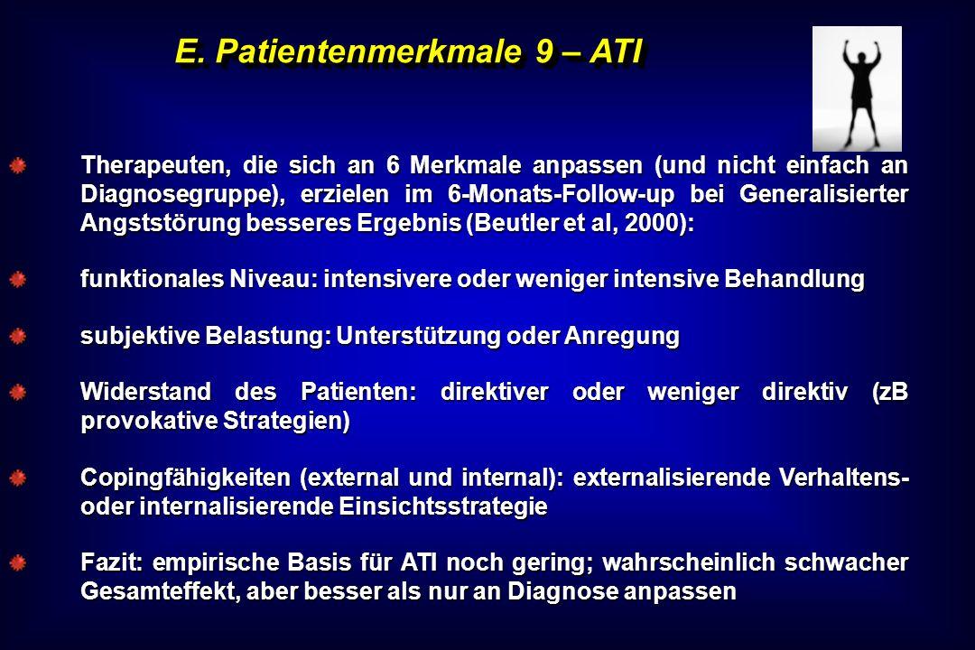 E. Patientenmerkmale 9 – ATI