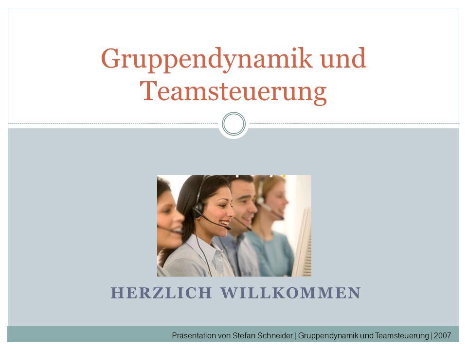 Gruppendynamik und Teamsteuerung