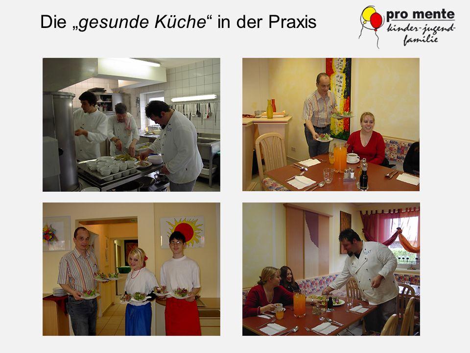 """Die """"gesunde Küche in der Praxis"""