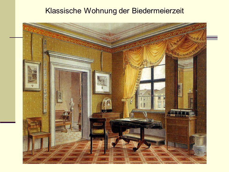 Klassische Wohnung der Biedermeierzeit