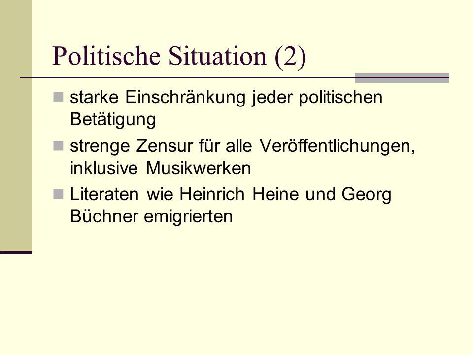 Politische Situation (2)