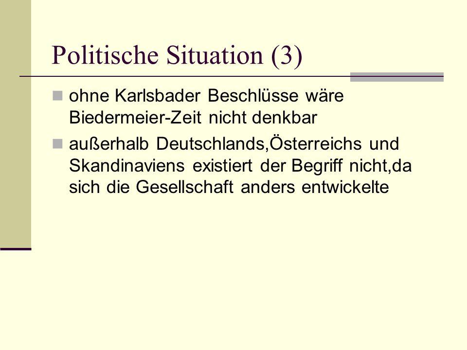 Politische Situation (3)