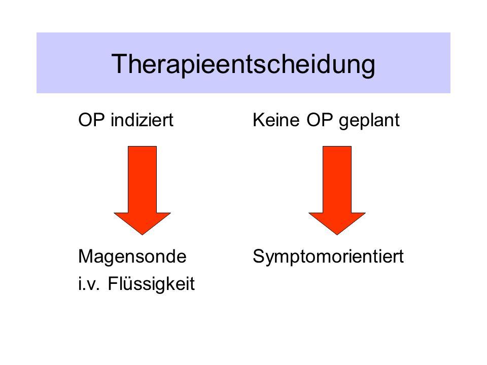 Therapieentscheidung