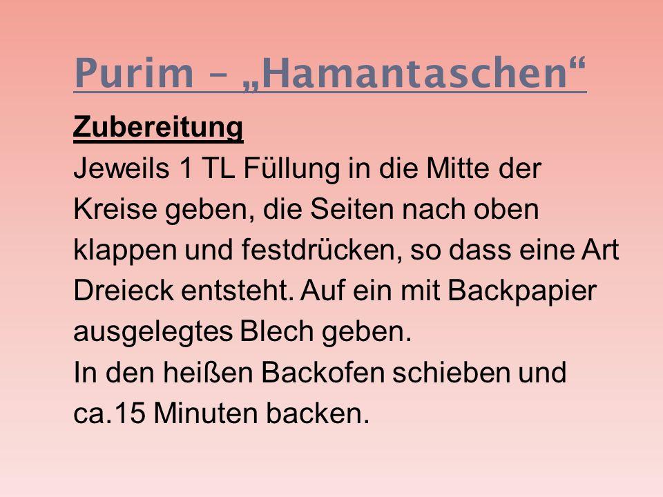 """Purim – """"Hamantaschen"""