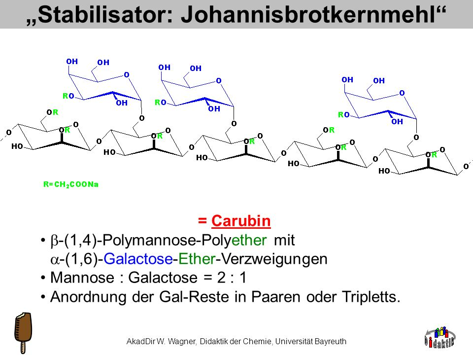 """Stabilisator: Johannisbrotkernmehl"