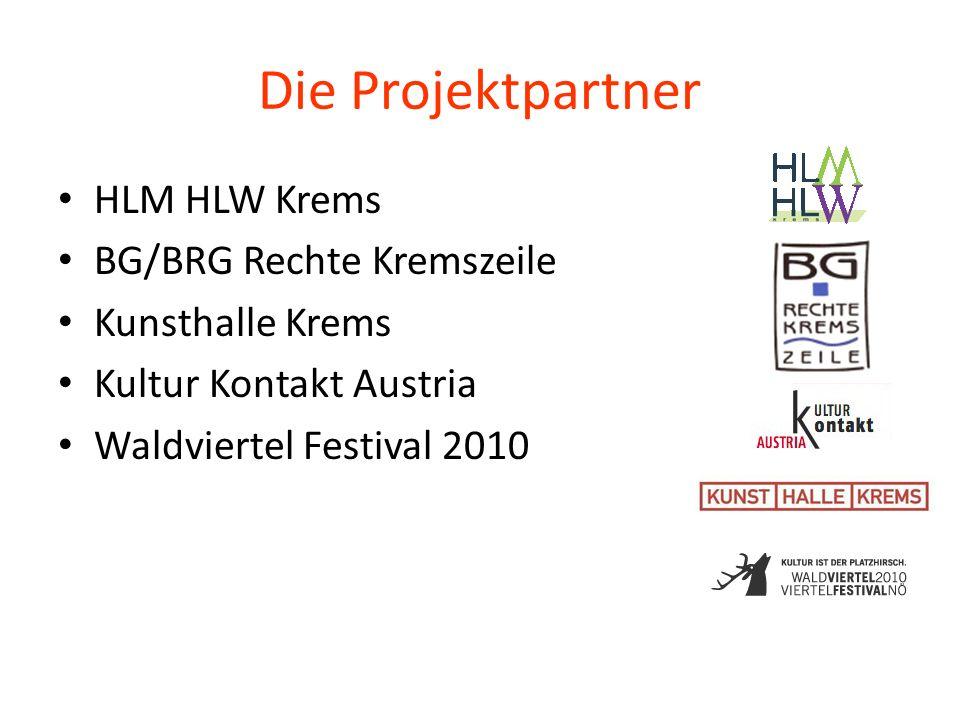 Die Projektpartner HLM HLW Krems BG/BRG Rechte Kremszeile