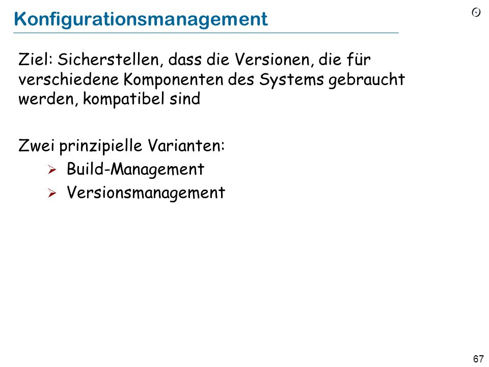 Konfigurationsmanagement