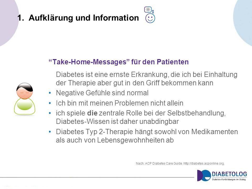 1. Aufklärung und Information
