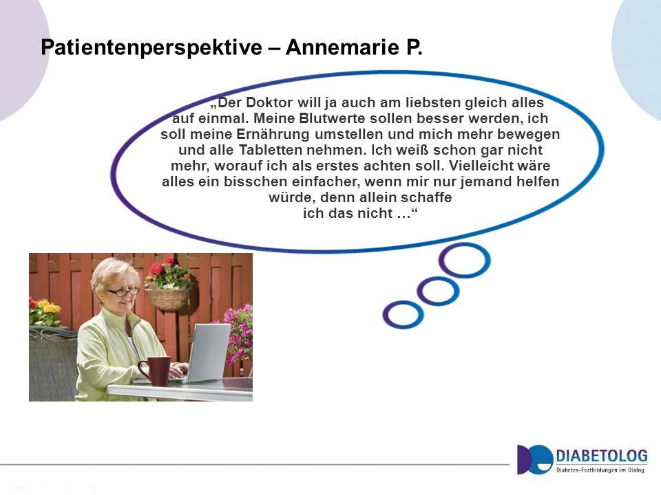 Patientenperspektive – Annemarie P.