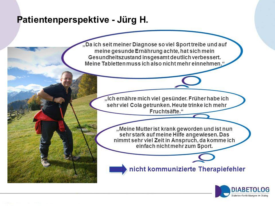 Patientenperspektive - Jürg H.