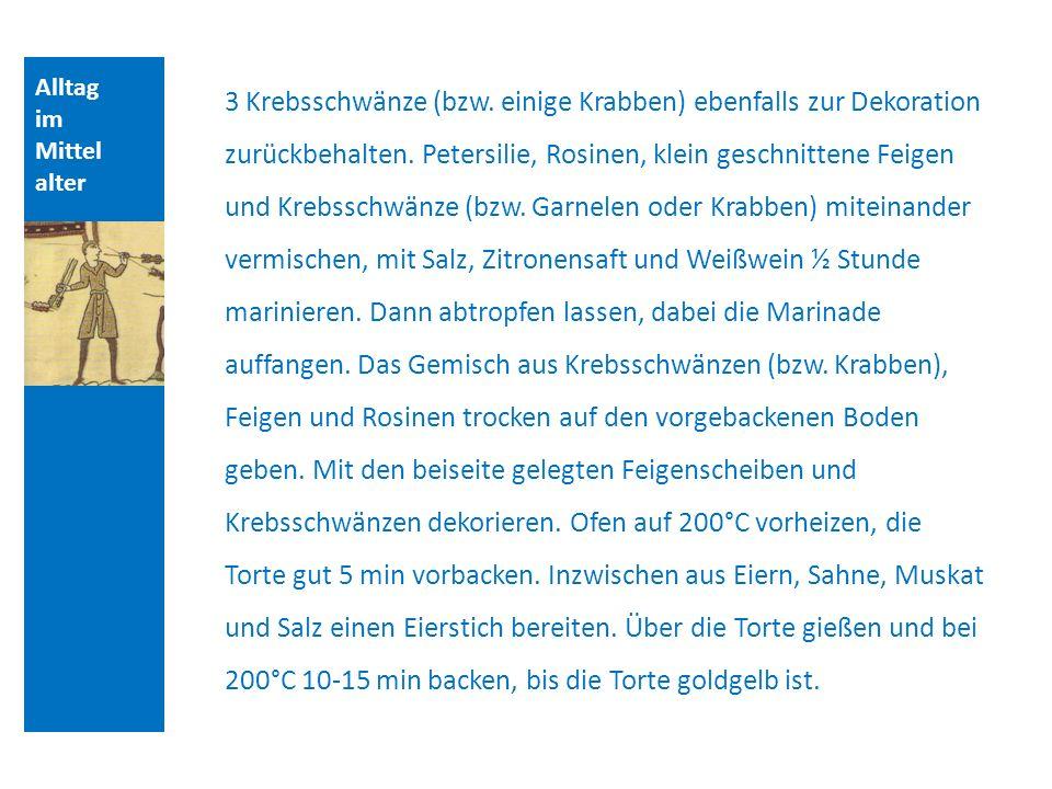 Quellen und Literatur Alltag. im. Mittelalter.