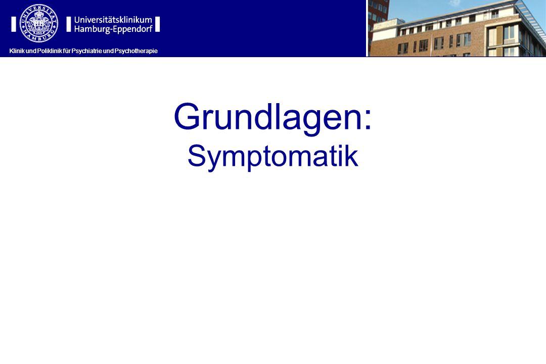 Grundlagen: Symptomatik