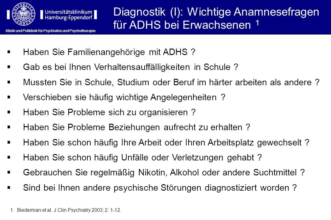 Diagnostik (I): Wichtige Anamnesefragen für ADHS bei Erwachsenen 1