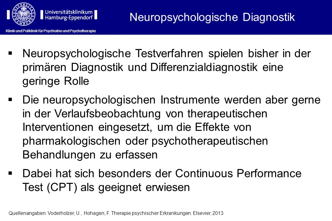 Neuropsychologische Diagnostik