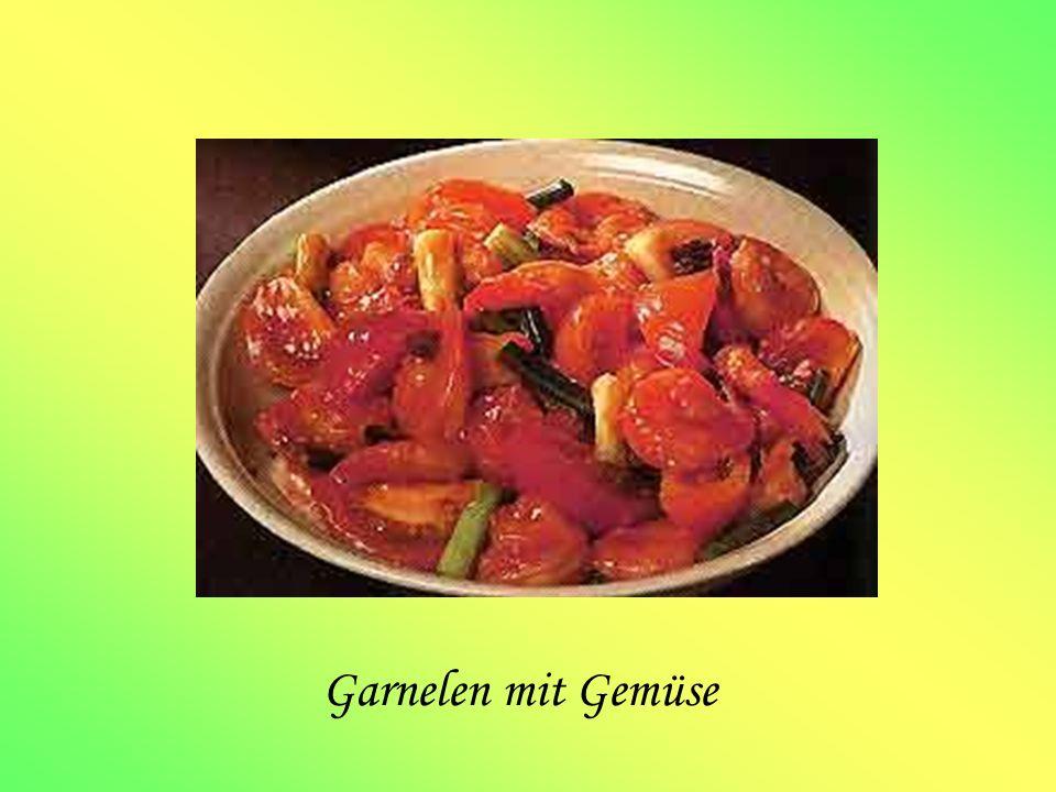 Garnelen mit Gemüse