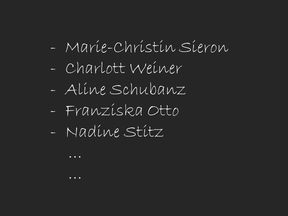 Marie-Christin Sieron