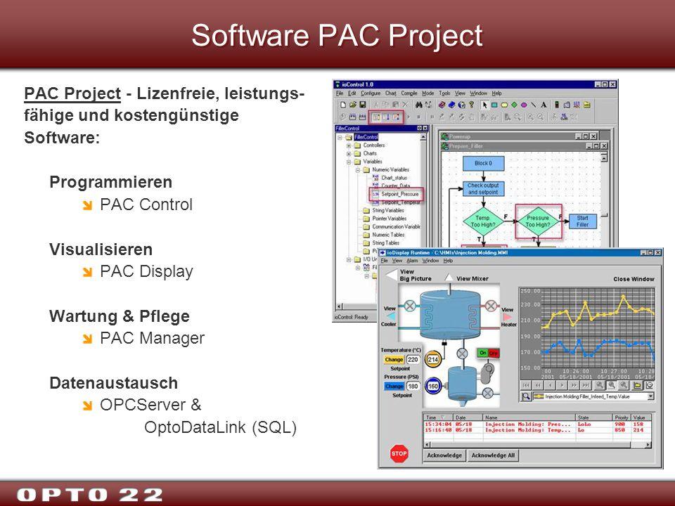 Software PAC Project PAC Project - Lizenfreie, leistungs-fähige und kostengünstige Software: Programmieren.
