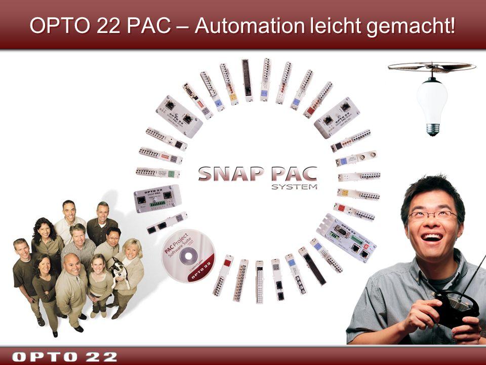 OPTO 22 PAC – Automation leicht gemacht!