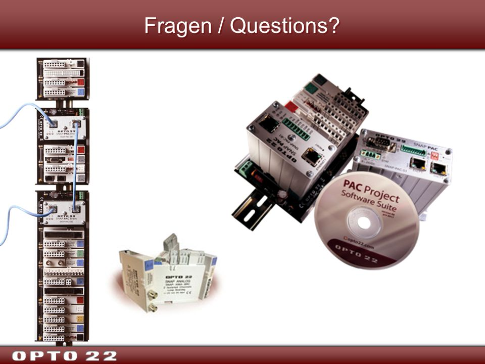 Fragen / Questions Thank you for your time. Are there any questions