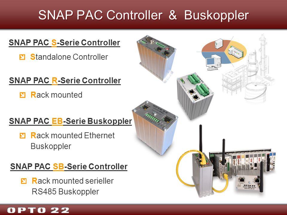 SNAP PAC Controller & Buskoppler