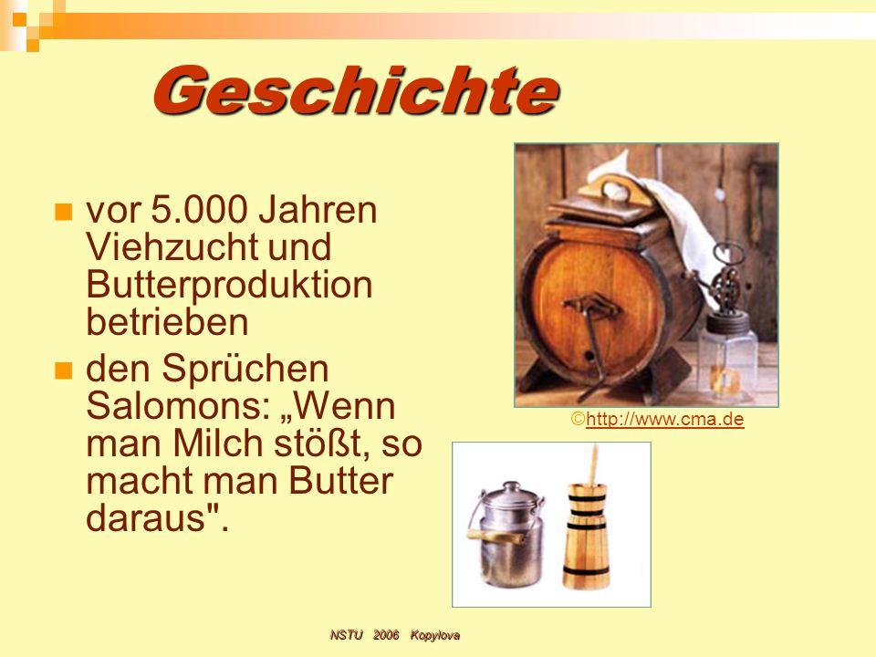 Geschichte vor 5.000 Jahren Viehzucht und Butterproduktion betrieben
