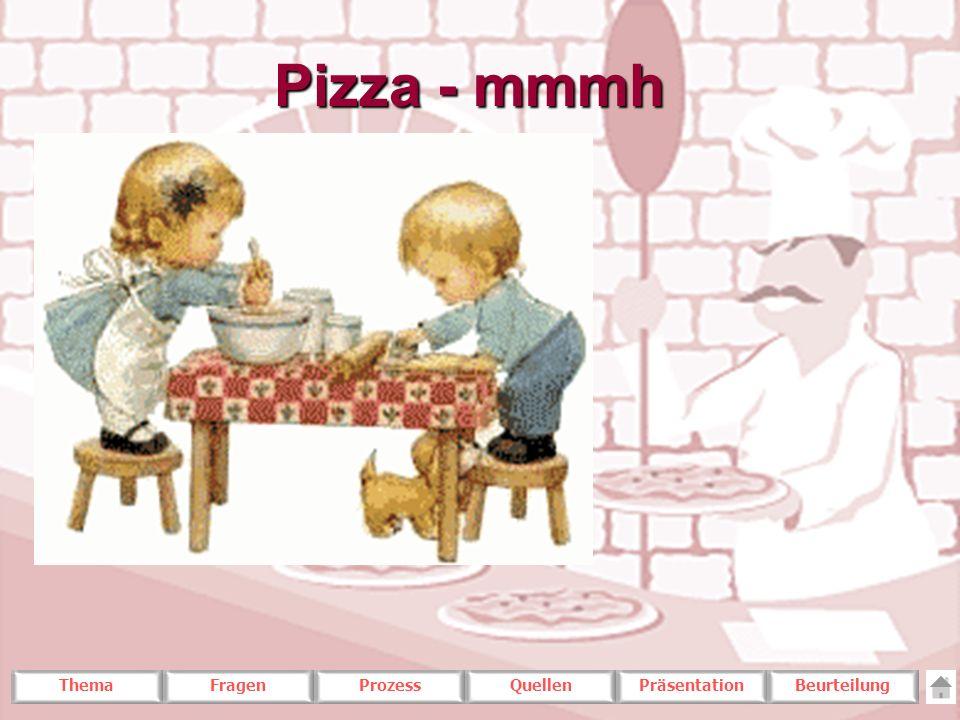 Pizza - mmmh