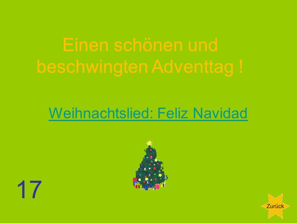 Einen schönen und beschwingten Adventtag !