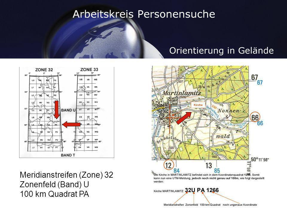 Meridianstreifen (Zone) 32