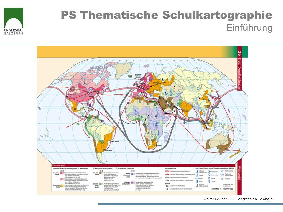 PS Thematische Schulkartographie Einführung