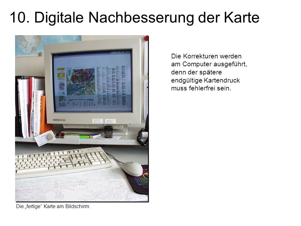 10. Digitale Nachbesserung der Karte