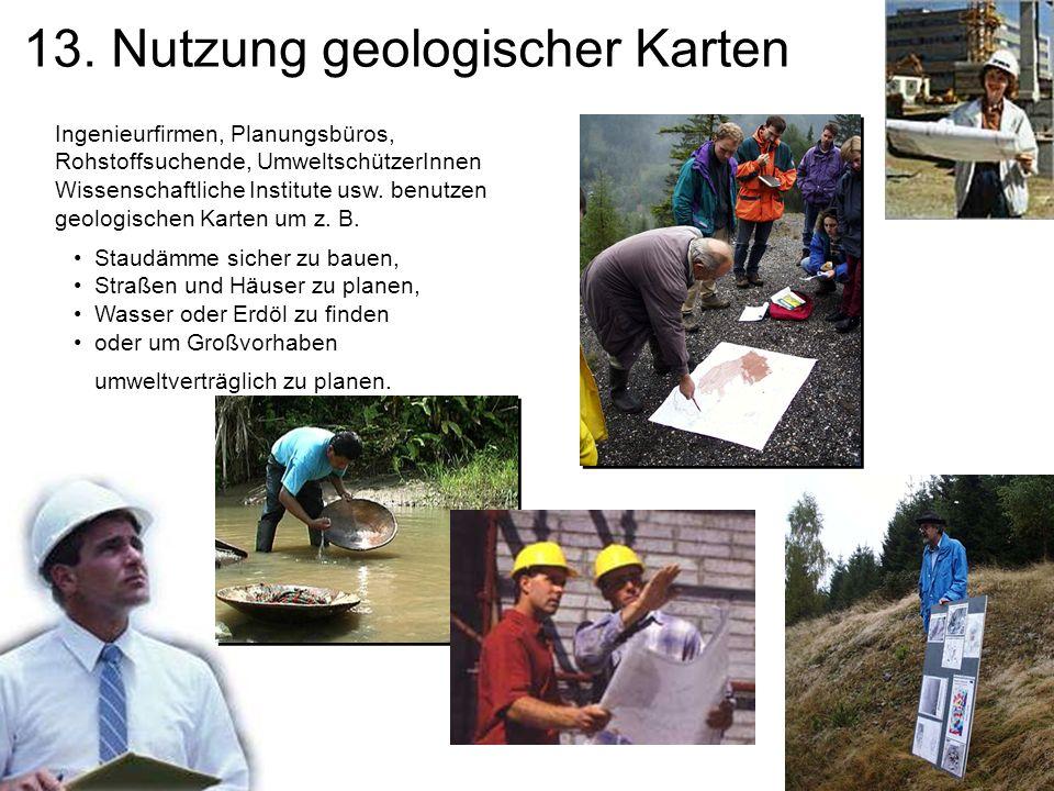 13. Nutzung geologischer Karten