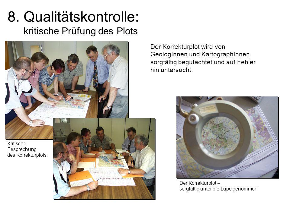 8. Qualitätskontrolle: kritische Prüfung des Plots
