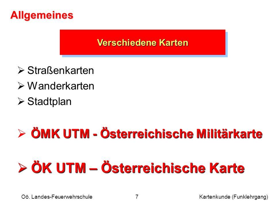 ÖK UTM – Österreichische Karte