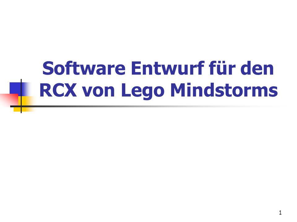 Software Entwurf für den RCX von Lego Mindstorms