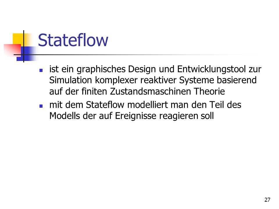 Stateflow