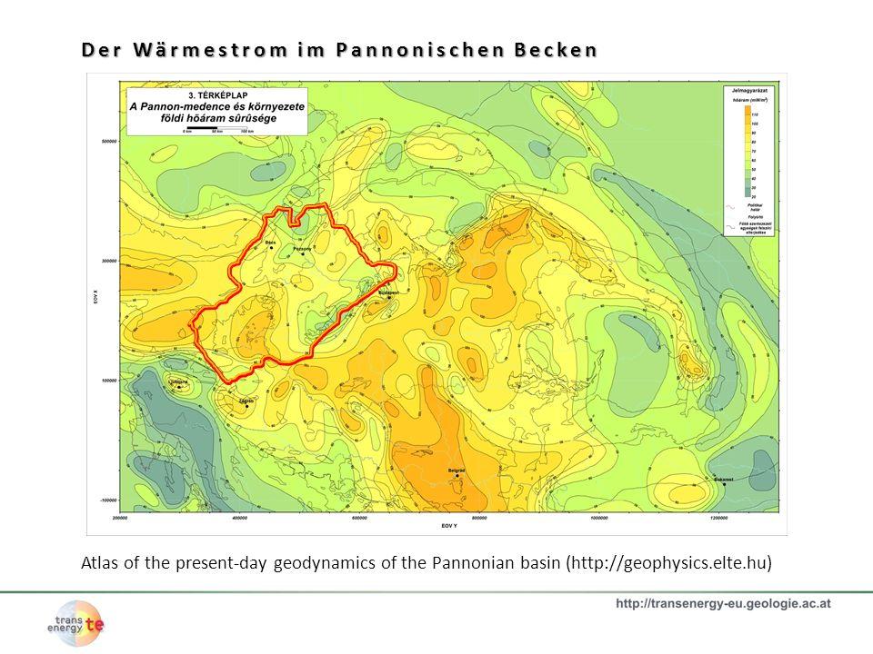 Der Wärmestrom im Pannonischen Becken
