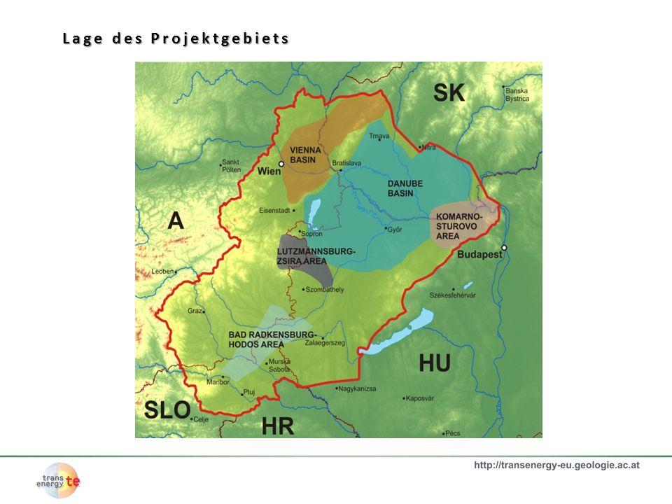 Lage des Projektgebiets