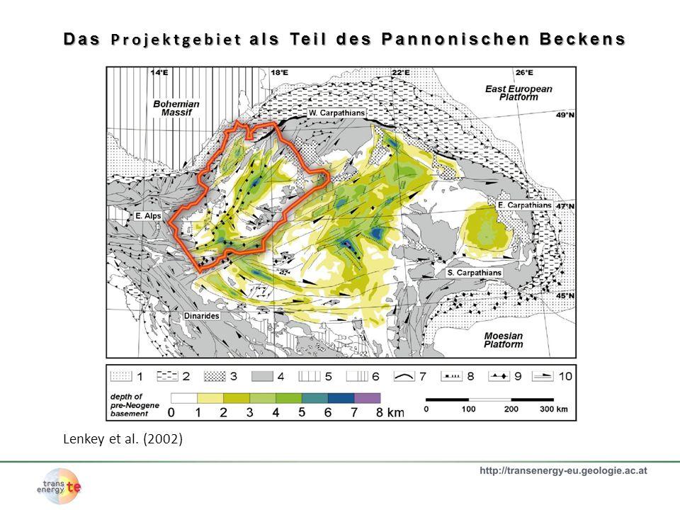 Das Projektgebiet als Teil des Pannonischen Beckens