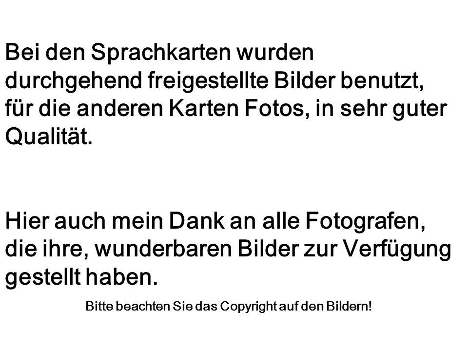 Bitte beachten Sie das Copyright auf den Bildern!