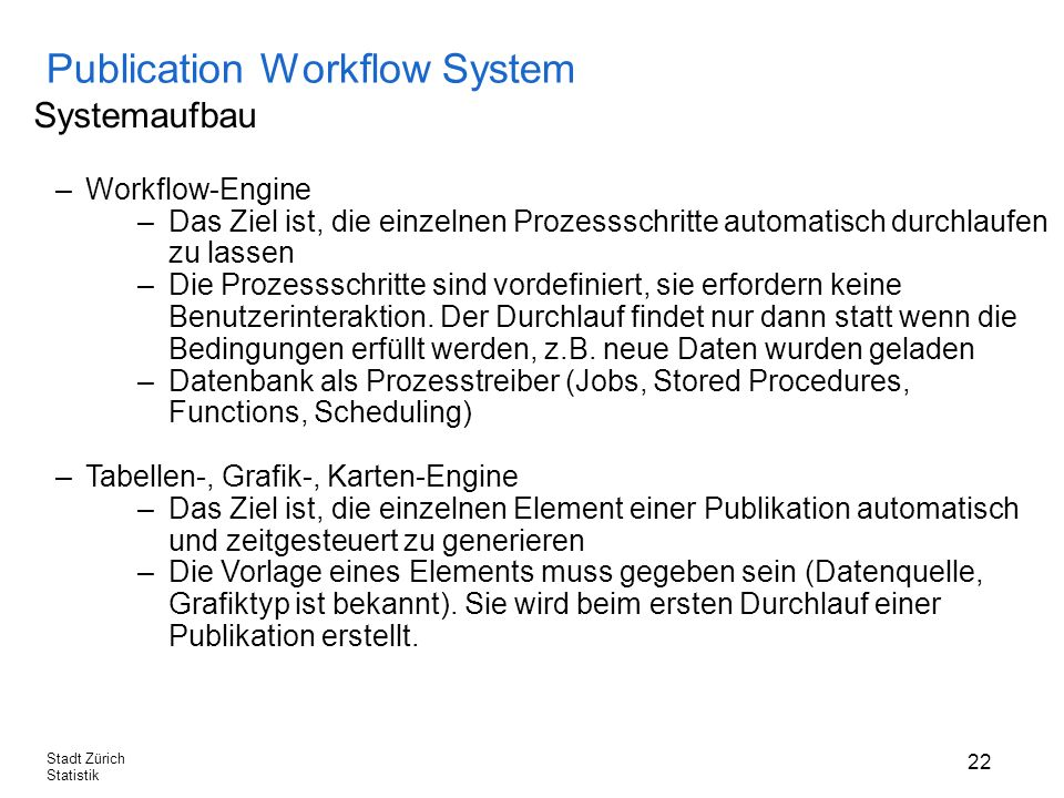 Publication Workflow System