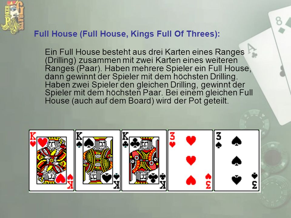 Full House (Full House, Kings Full Of Threes):