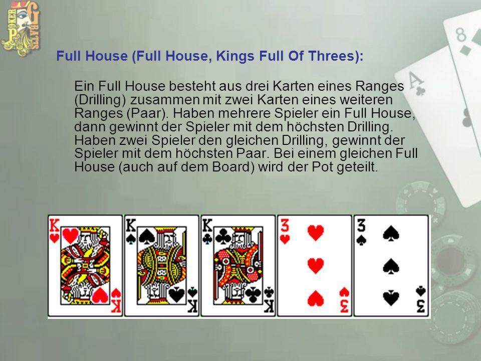 Full House (Full House, Kings Full Of Threes):