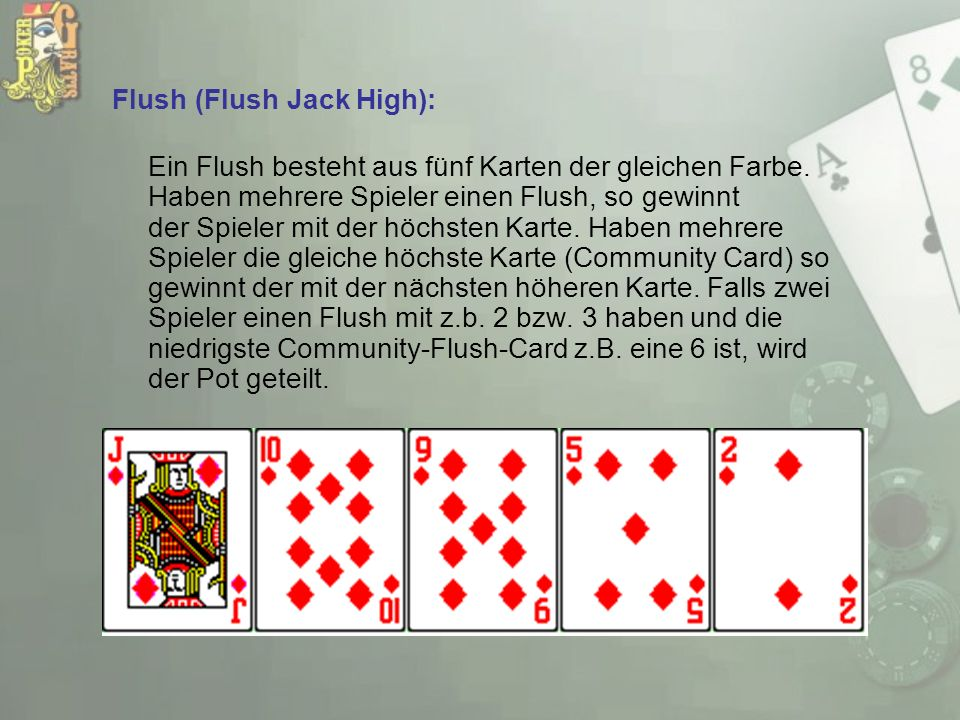 Flush (Flush Jack High):