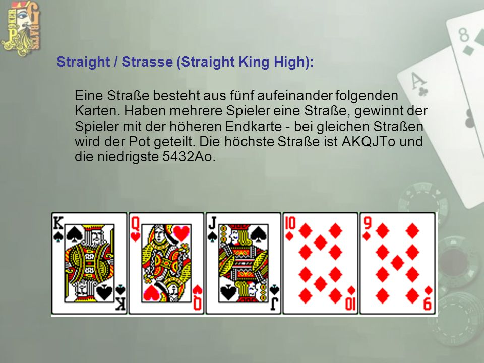 Straight / Strasse (Straight King High):