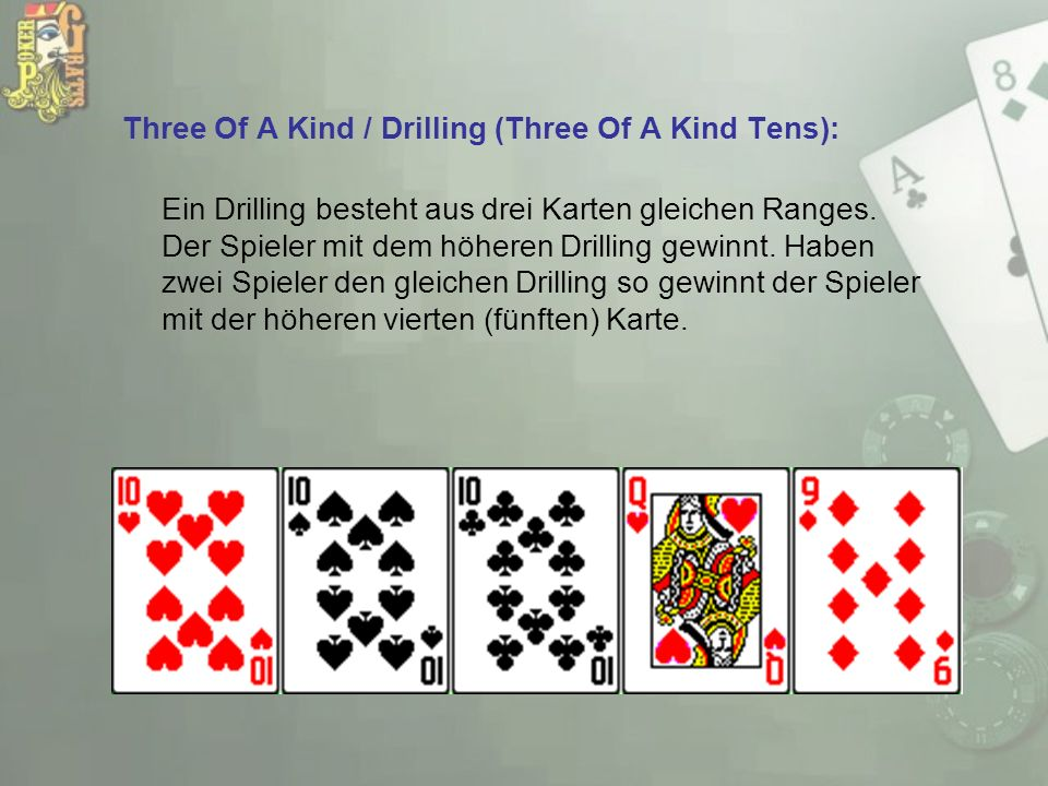 Three Of A Kind / Drilling (Three Of A Kind Tens):