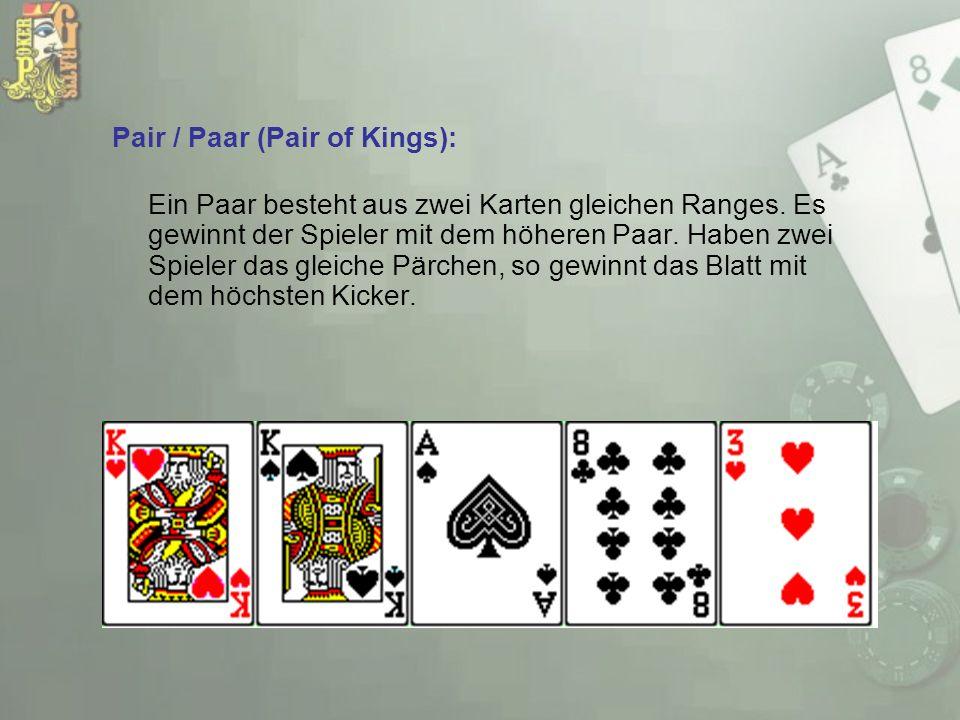 Pair / Paar (Pair of Kings):